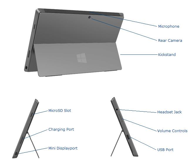 Surface Pro Specs
