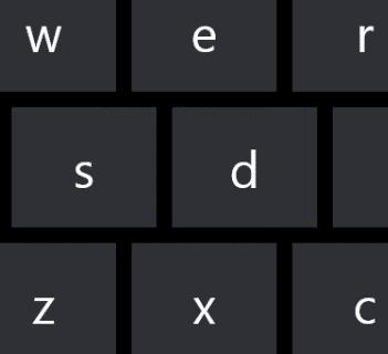 On-screen keyboard