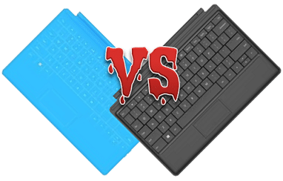 Touch vs type