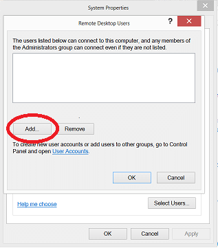 Remote Desktop Surface