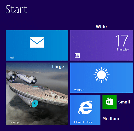 Windows 8.1 Quick start