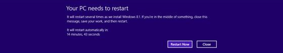 Windows 8.1 Upgrade Problems