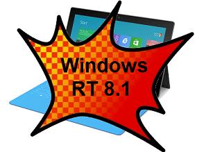 Windows RT 8.1 upgrade issues