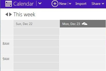 Import Your Google Calendar to Outlook.com