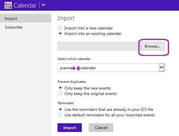 How to Import Your Google Calendar to Outlook com - Love My Surface