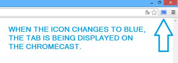Chromecast on Surface Blue Icon