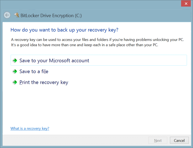 how to remove encryption from hard drive windows 7