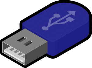 Transfer files to surface-USB