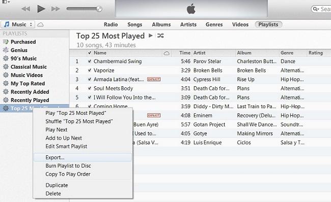 itunes-export-playlist2