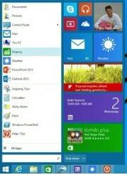 Windows 8.1 Update 1 - start button