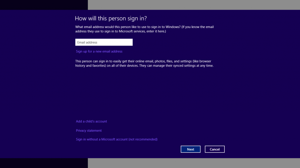 How To Create a local Account on your Surface
