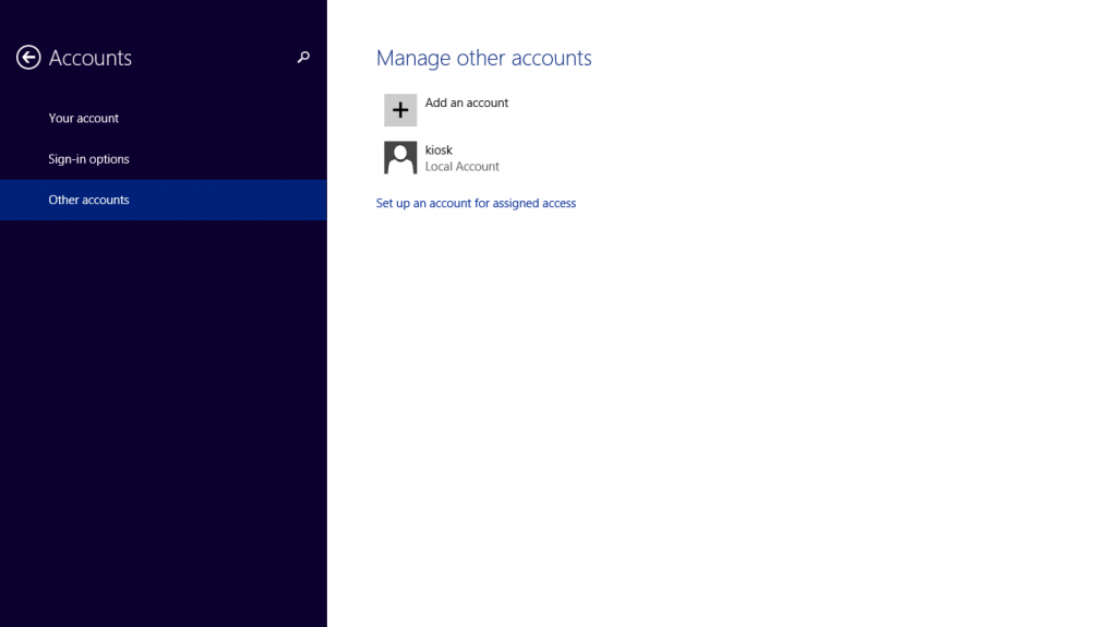 Turn a Surface into a Windows Kiosk- Get into Assigned Access mode