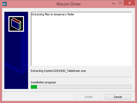 Updated Wacom Driver for Surface Pro - Install 1