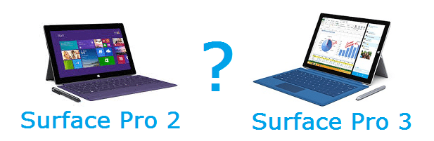Upgrade Surface Pro 2 to a Surface Pro 3