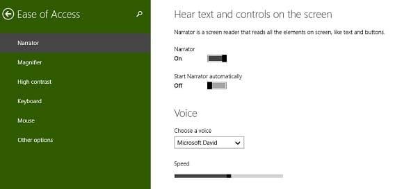 Microsoft Narrator