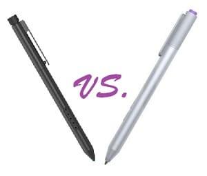 Surface Pro 2 Pen vs Surface Pro 3 Pen
