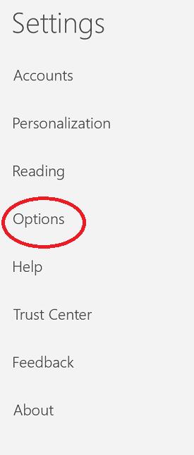 Set up signature in Windows mail app