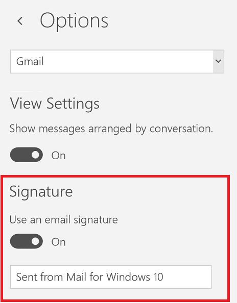 1 Microsof1 Microsofmail At Abc Microsoft Company: Set Up Signature In Windows Mail App • Love My Surface