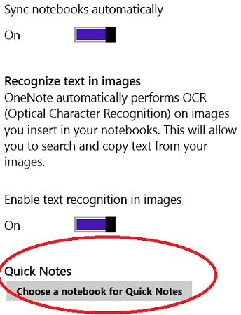 onenote-change-options