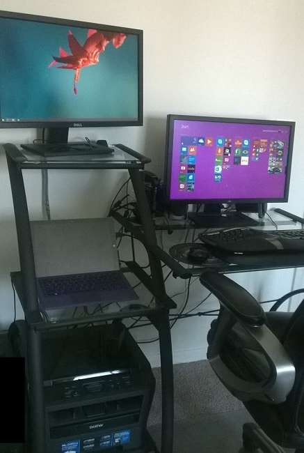 My New Surface Pro 3 Home Office Setup Love My Surface