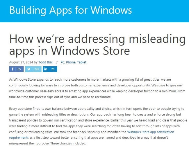 Microsoft Nukes 1,500 Apps from Windows 8 Apps Store