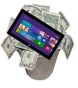 Is The Surface Line Of Tablets in Trouble