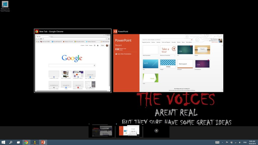 Windows 10 Preview on Surface - VDT2