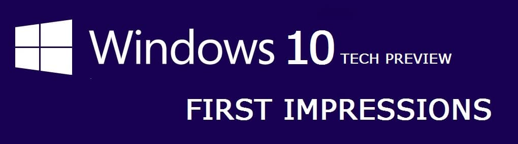 Windows 10 Preview on Surface