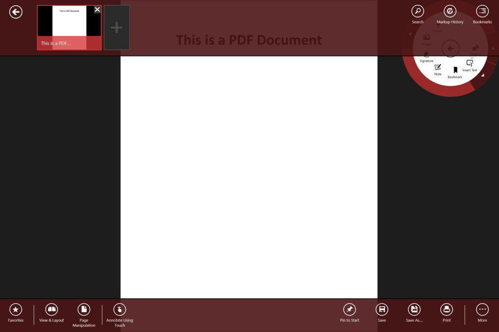 Annotate PDF on Surface Tablets - Drawboard2