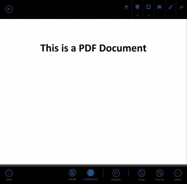 Annotate PDF on Surface Tablets - Foxit1