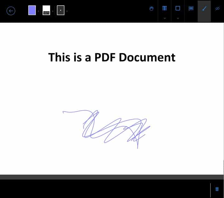 Annotate PDF on Surface Tablets - Foxit2