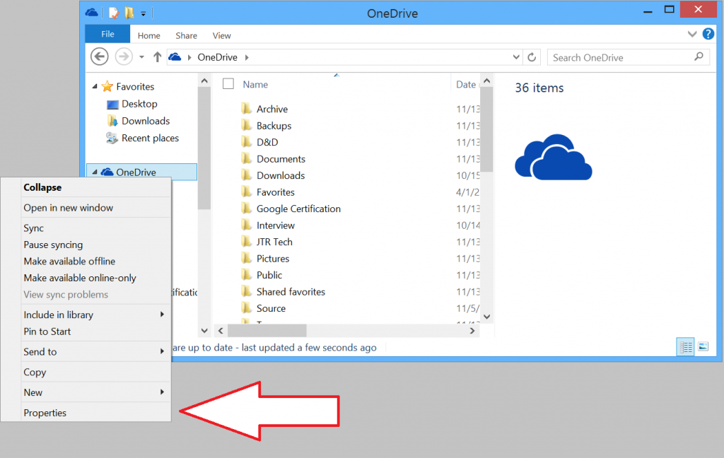 Free Up Space on Surface Tablets with OneDrive Options-Online-Only-Move1
