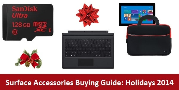 Surface Accessories Buying Guide: Holidays 2014