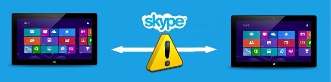 Modern Skype Issues on Windows 8