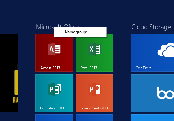 Set Up Your New Surface Tile Group Name Mouse