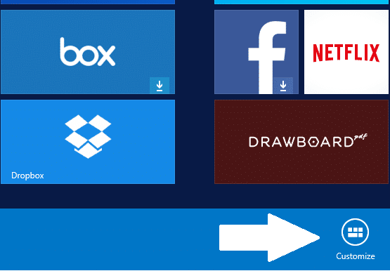 Set Up Your New Surface Tile Group Name touch