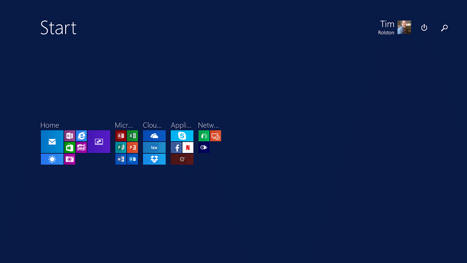 Set Up Your New Surface Tile Groups - Zoom