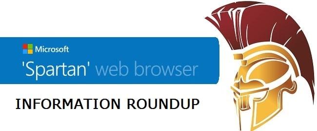 Codename Spartan Web Browser Information Roundup