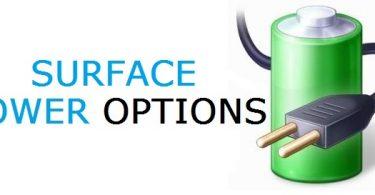Microsoft-Surface-Power-Settings