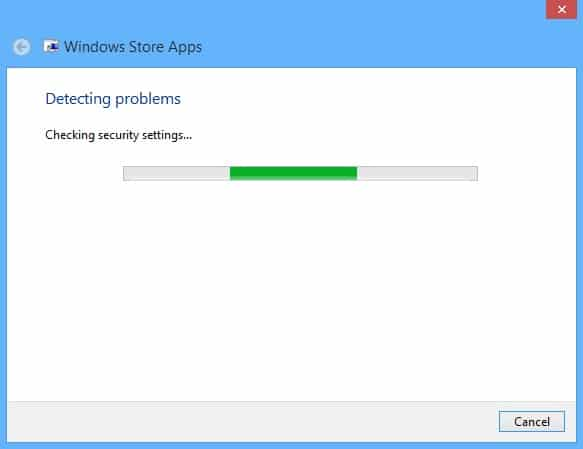 Fix Windows Store Problems on Your Surface - Troubleshooter 2