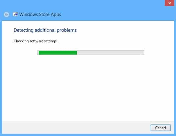 Fix Windows Store Problems on Your Surface - Troubleshooter 4