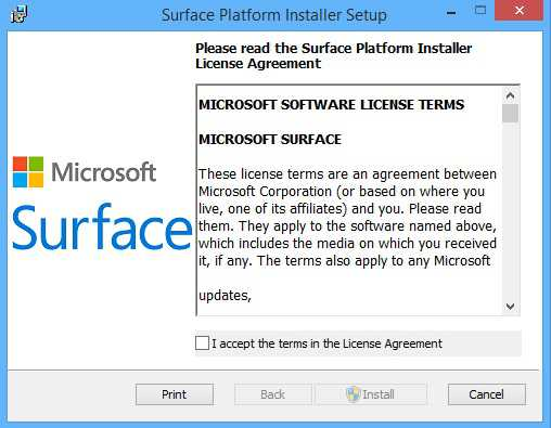 Latest Surface Pro 3 Updates in a Single File - Running