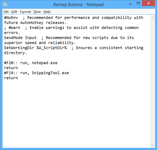 Remap the Surface Pro 3 Purple Button - Notepad