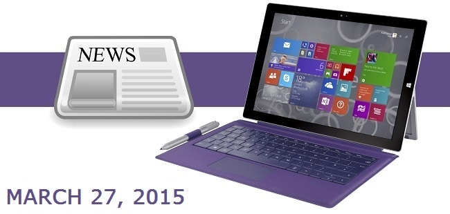 Surface News Roundup - Title