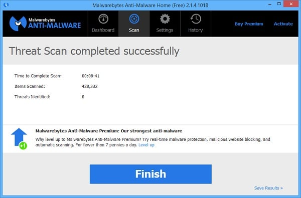 Remove Malware From Surface Pro Tablets with MalwareBytes Chameleon - Finished