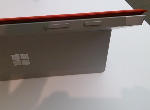 Surface 3 Hands On Review - Buttons