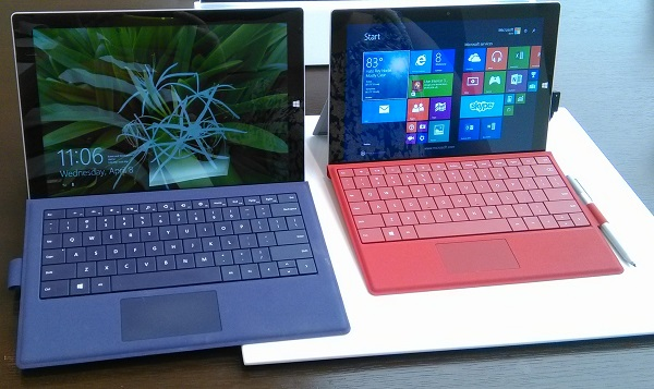 Surface 3 Hands On Review - Side by Side