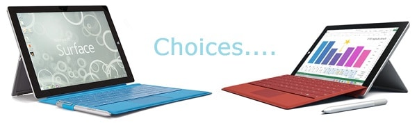 Surface 3 or Surface Pro 3 Title