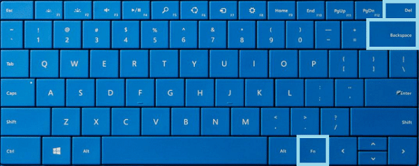 Adjust Surface Pro 3 Screen Brightness-Keyboard