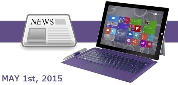 Surface News Roundup - May 1 2015